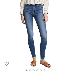 Levi's Mile High Super Skinny Jeans Sz 27